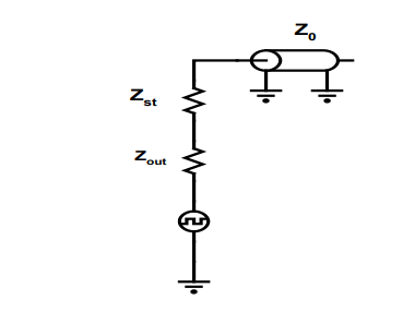 Equivalent Circuit Seen by Reflected Wave as it Arrives at Driver