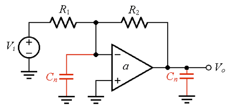 Circuit model and amplifier stability