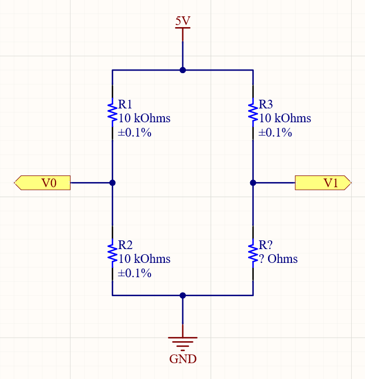 Basic Wheatstone Bridge