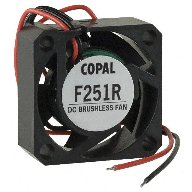 Example 5 V brushless DC motor fan F251R-05LB for the project