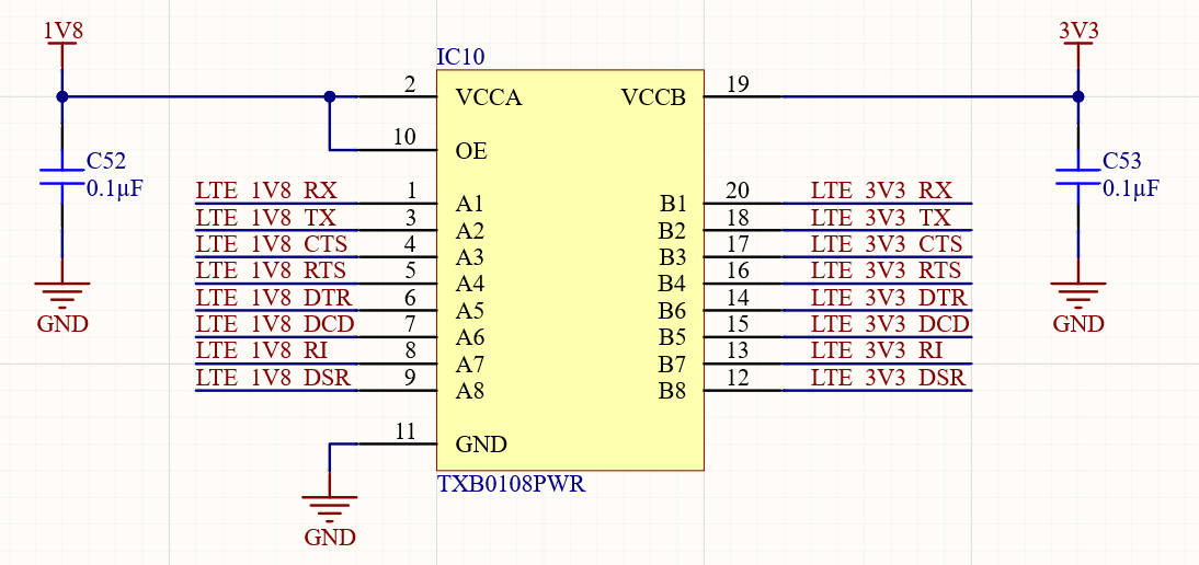 3.8V power supply