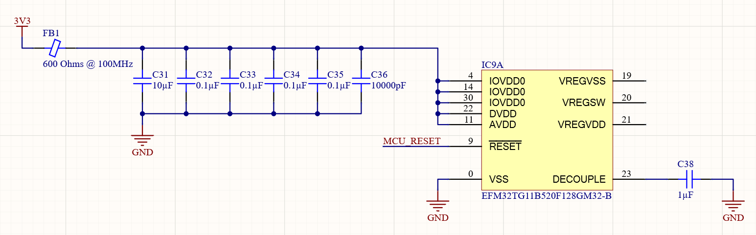 microcontroller power
