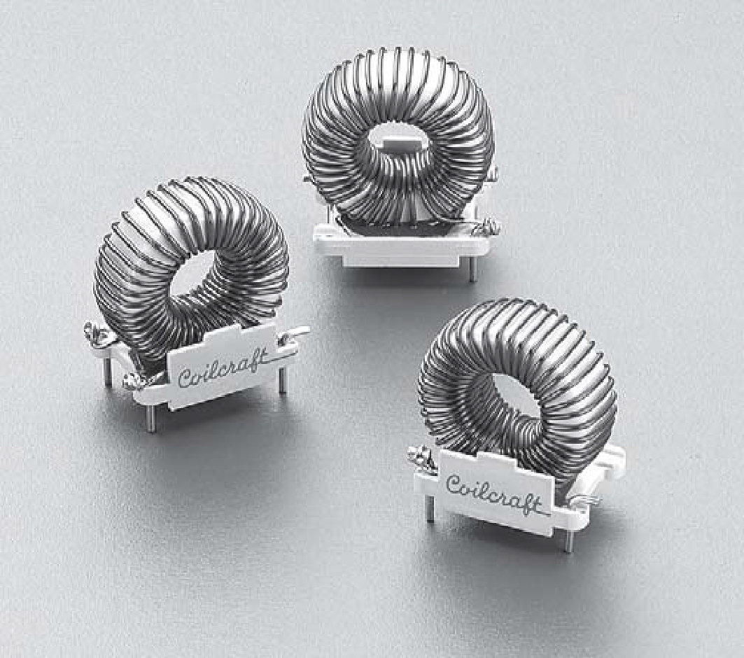 coilcraft toroid inductors pcb design