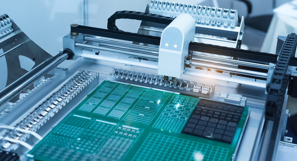 PCB assembly at manufacturer