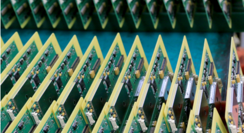 PCB production assembly