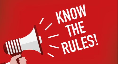 Bullhorn reminds you to know the rules