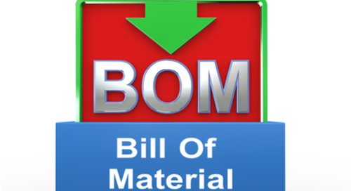 3D illustration of  Bill of Materials sign