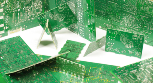 Foto verschiedener Multilayer-PCBs-Designs