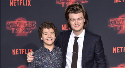 Steve and Dustin from Stranger Things