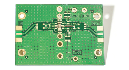 PCB with exterior plane