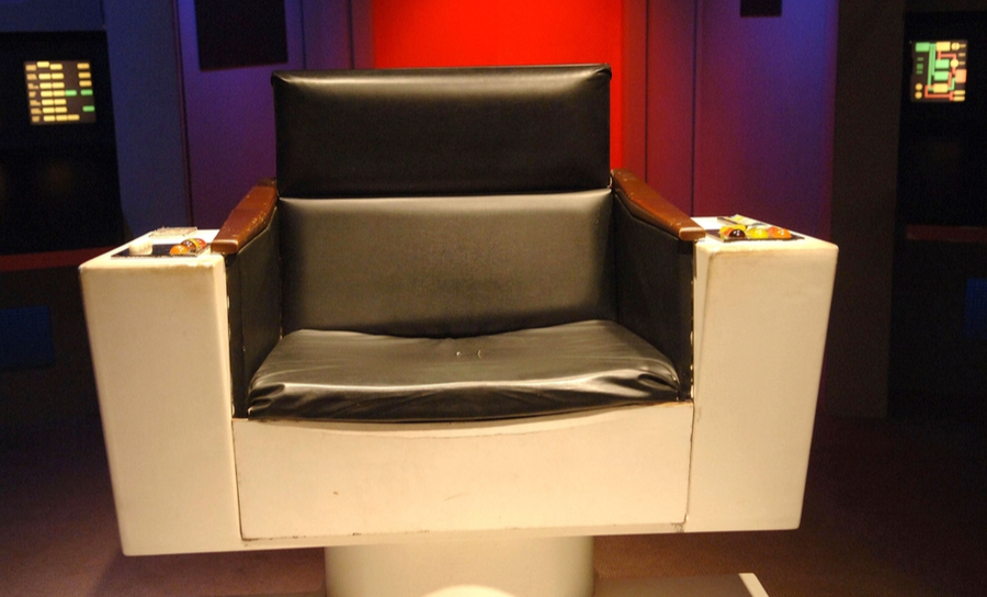 The Captain's chair from Star Trek