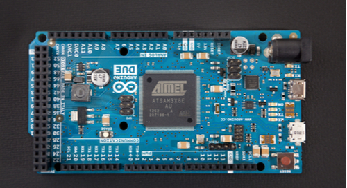 Arduino board with 32-bit microcontroller