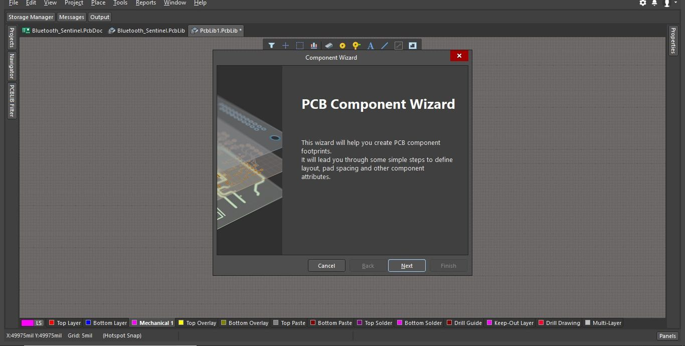 PCB Component Wizard