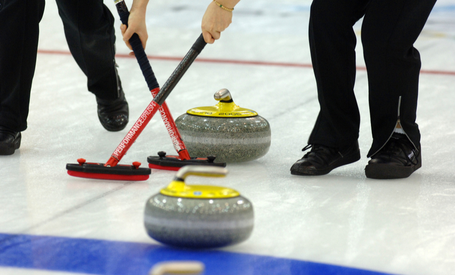 Picture of Olympic Curling