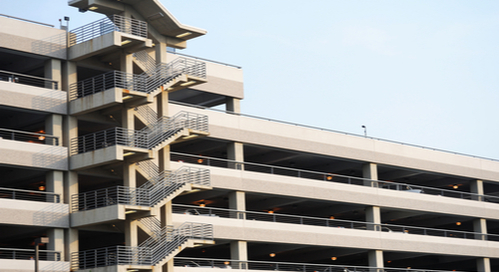 Multi-level parking garage