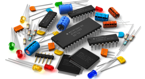 PCB component pieces and microprocessors