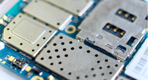 Shielding used in a PCB