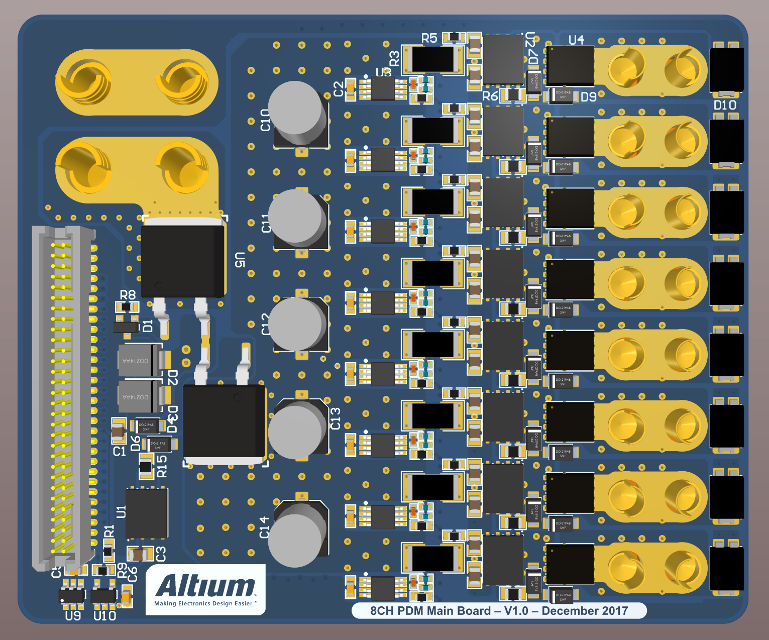 3D Board Design in Altium