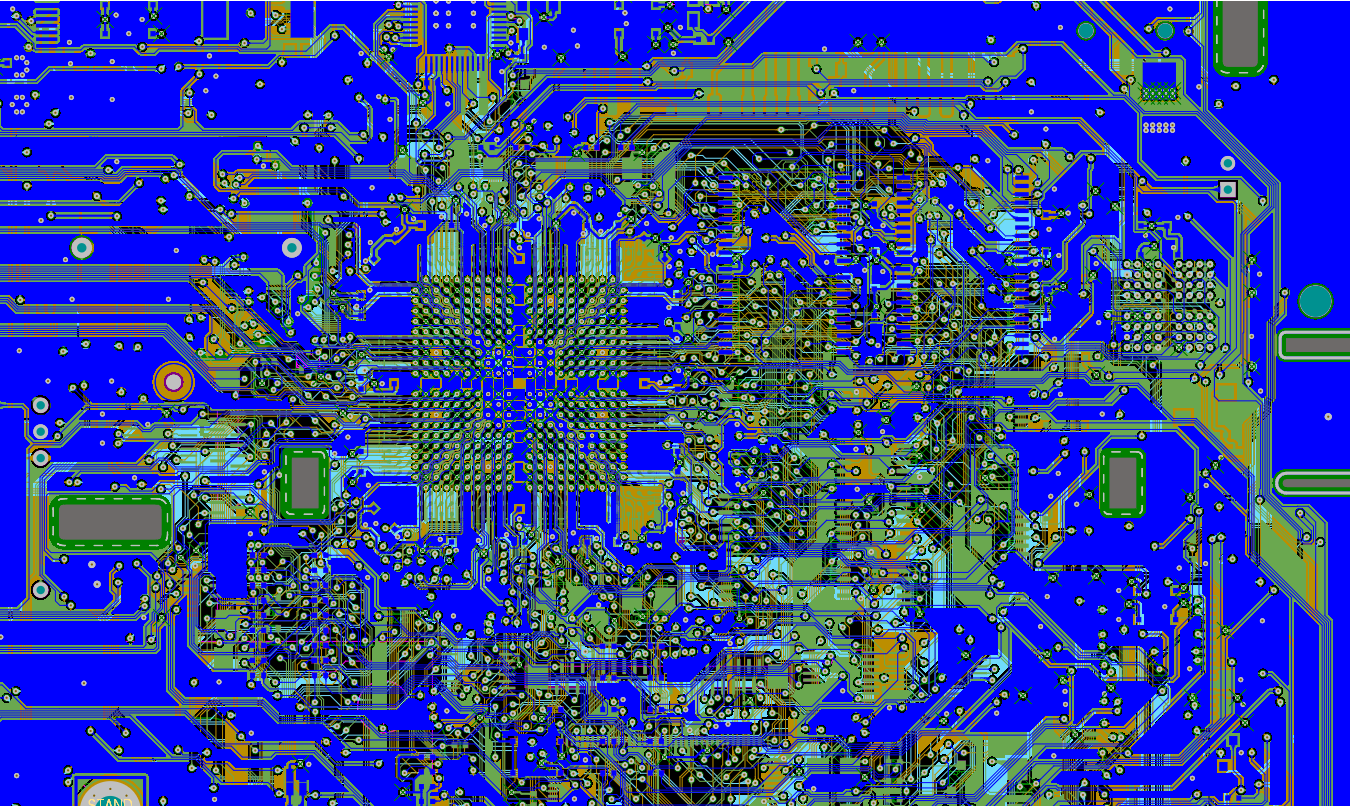 PCB layout migrations happen well with global interface frameworks