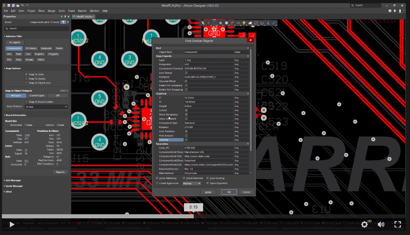 Altium  18 global editing framework