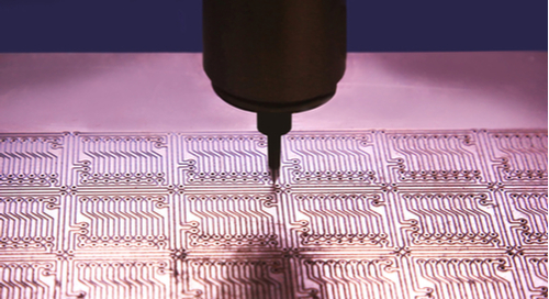 Drilling vias in a PCB