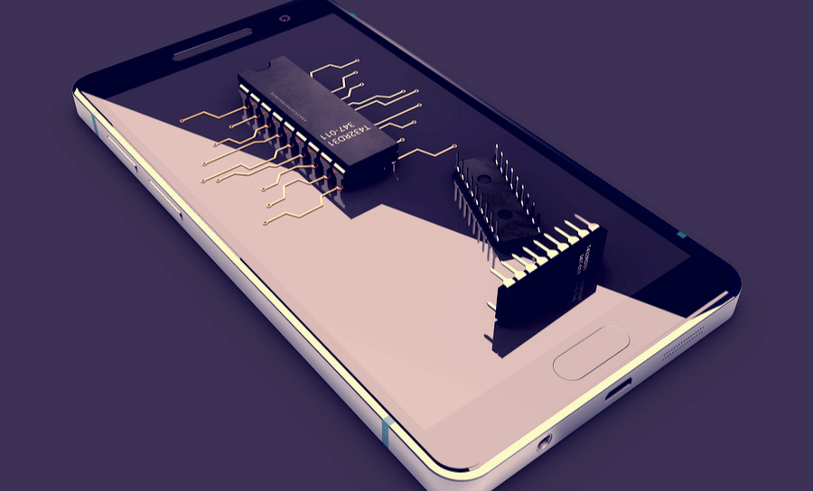 Embedded capacitors used in iPhone technology
