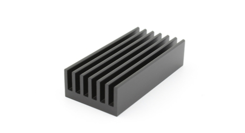 Heat sink for overheating components