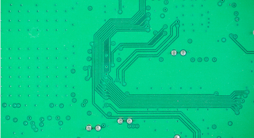 Mismatched traces on a PCB