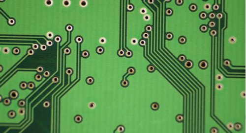 Differential pair routing and vias on a PCB