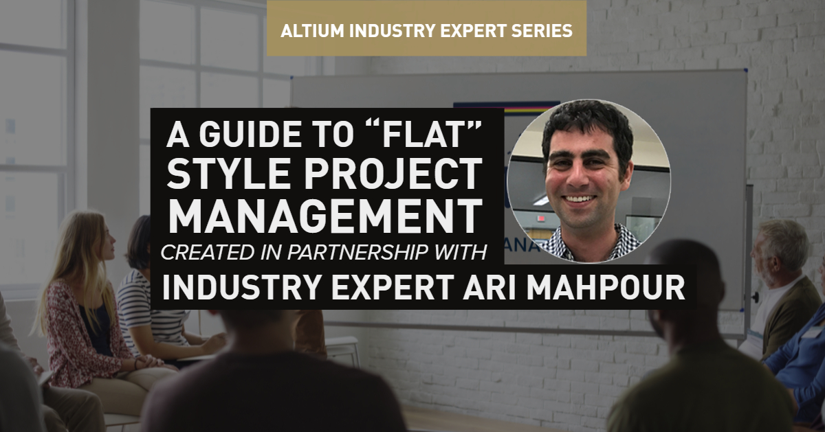 flat project management in pcb design cover image