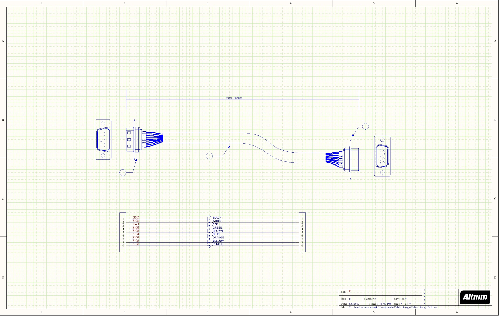 Cable Assembly Drawings For Pcb Cable Assemblies  Part 1