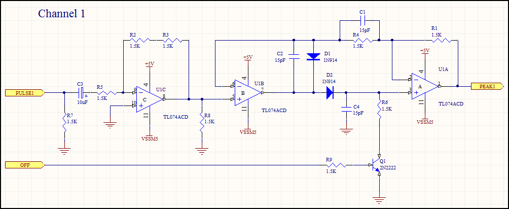 Channel 1 Schematic before replication