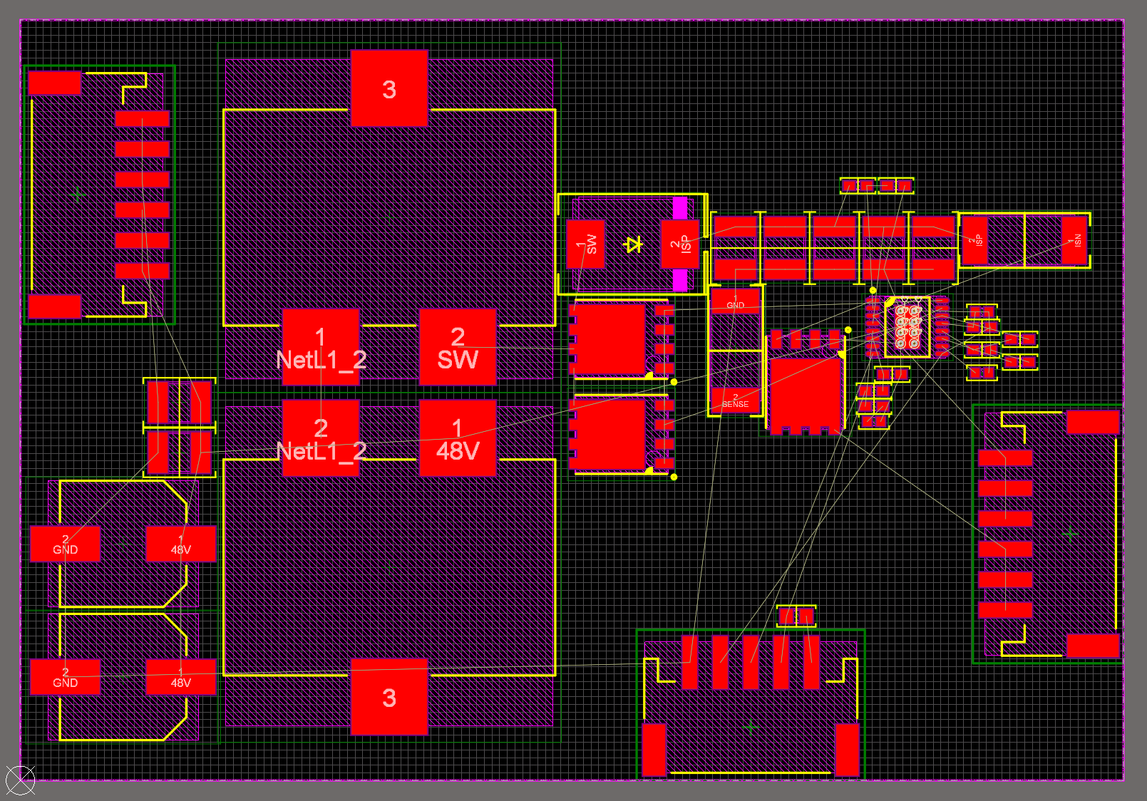 rough pcb layout