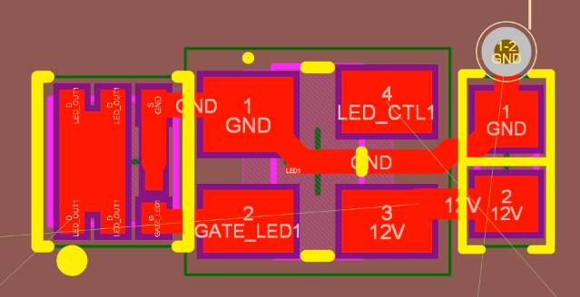 Single Channel PCB